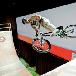 Halfpipe show Sportweek - BMX