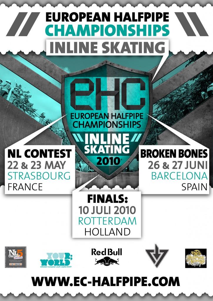 EC Halfpipe 2010 flyer opzet