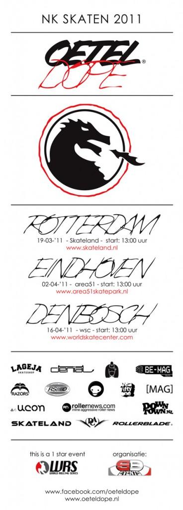 OETELDOPE 2011 flyer voorkant