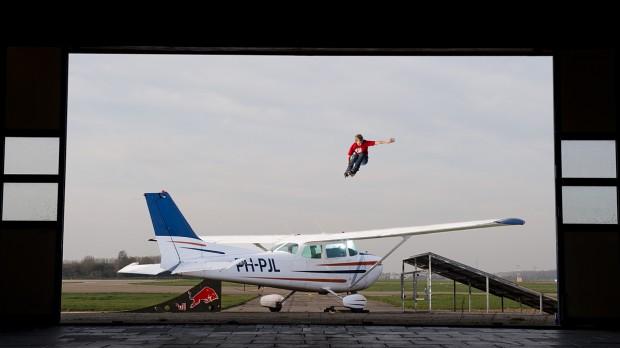 video vliegtuig